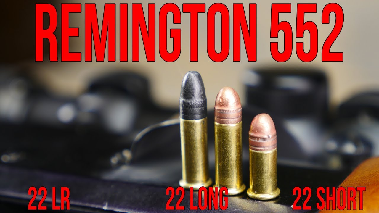 remington 552 speedmaster 22lr 22 long and 22 short all in one gun