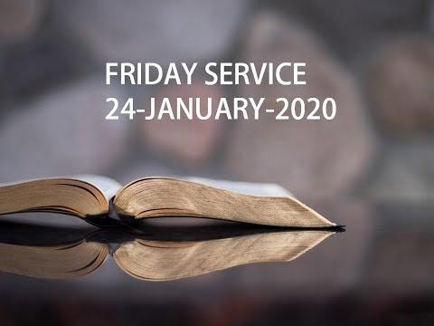 Bethel Tamil AG Church-Doha,Qatar    Friday Service   24-Jan-2020 Week-4