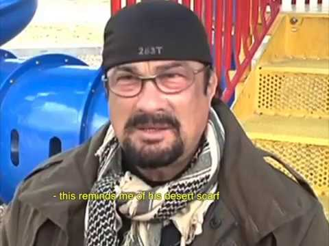 STEVEN SEAGAL MEETS HIS RUSSIAN SON! (RARE FOOTAGE)