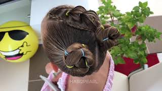Hair2pearl awesome girls hairstyle / braiding makeup tutorials 2 videos