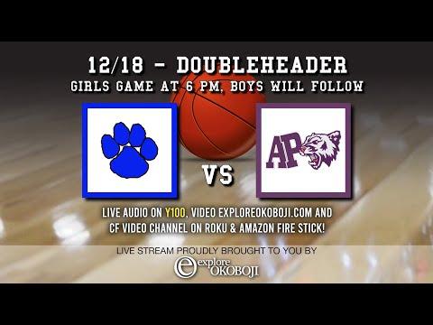 Iowa High School Basketball: West Lyon @ Arnold's Park (Okoboji) 12/18/20