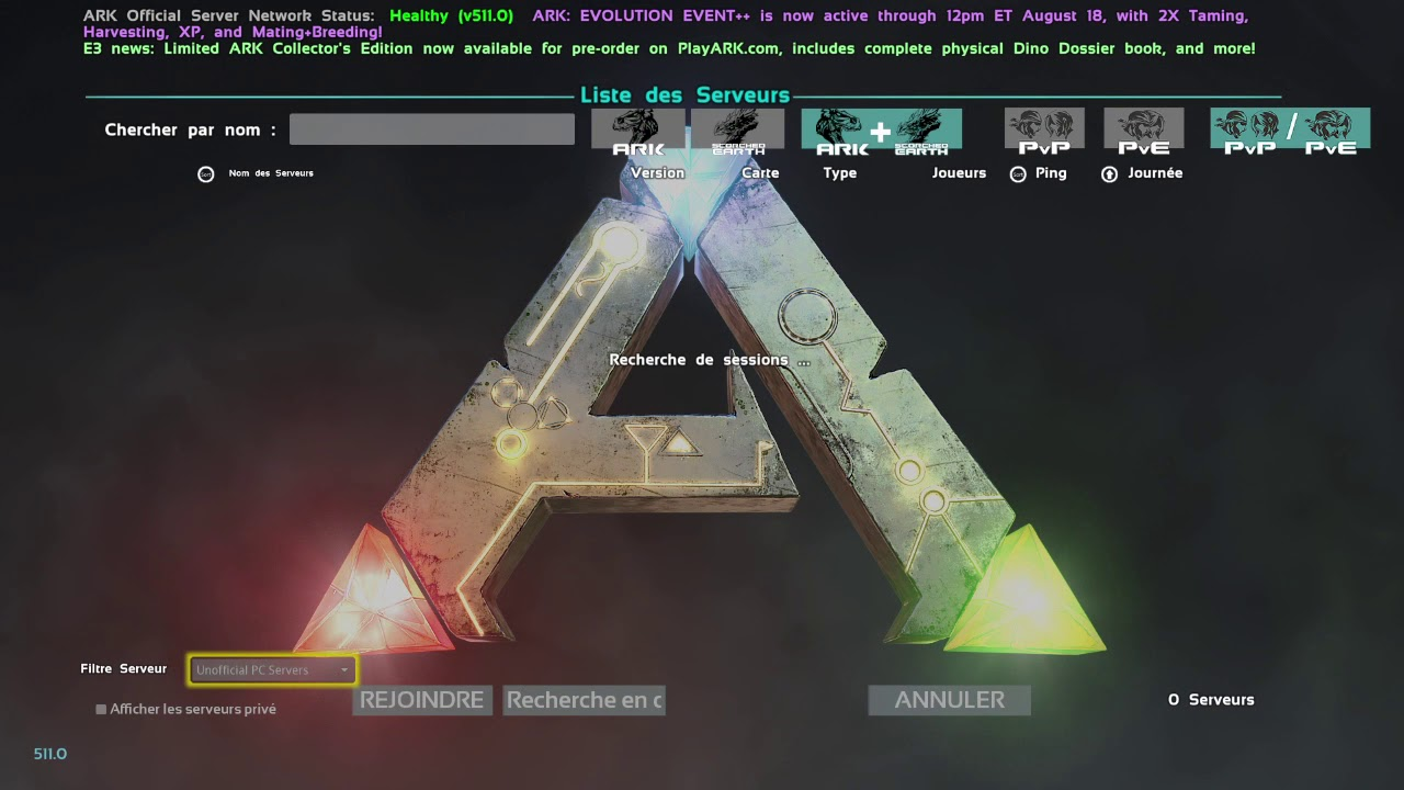 Rejoindre mon Serveur ARK PS4 - How to join my Hosted PC server ARK PS4  Nitrado