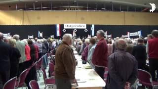Totengedenken – 20. Landestreffen der Ostpreußen in Mecklenburg-Vorpommern, Schwerin 2015