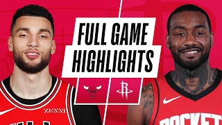BULLS at ROCKETS | FULL GAME HIGHLIGHTS | February 22, 2021