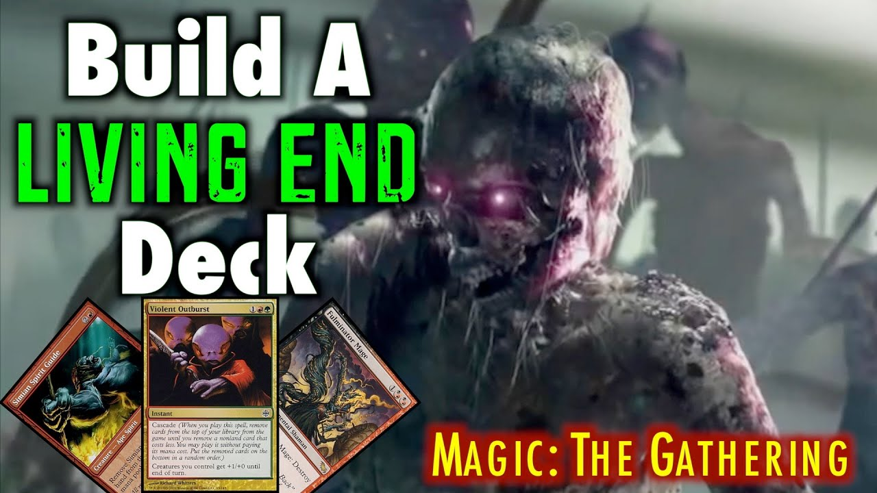 mtg build a modern living end deck for magic the gathering youtube