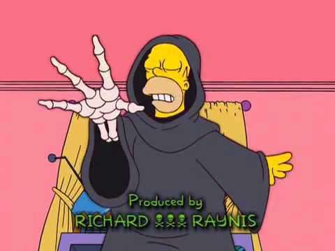 The Simpsons LA MORT