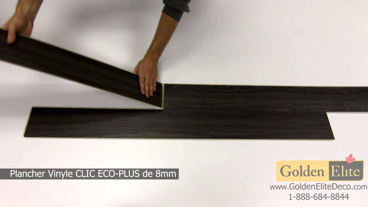 plancher de vinyle avec une sous couche en li ge youtube. Black Bedroom Furniture Sets. Home Design Ideas
