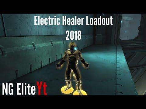 Best Electricity Healer DCUO Loadout 2018