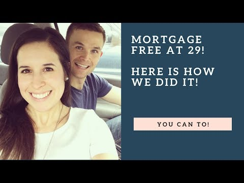 How we paid off our mortgage, became 100% debt free! Great tips!