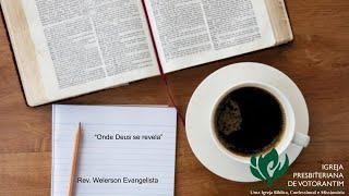 """Café com a palavra: """"Onde Deus se revela"""""""