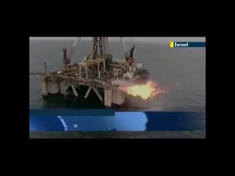 Offshore Israel: Tamar Gas Field in Full Production - Air Robot Security Surveillance