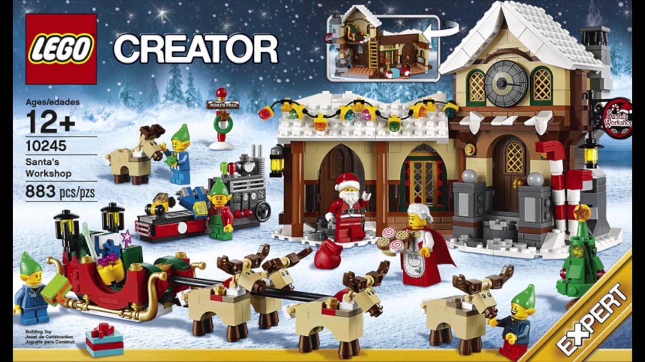 das neue weihnachts set die neuen minifiguren und die. Black Bedroom Furniture Sets. Home Design Ideas