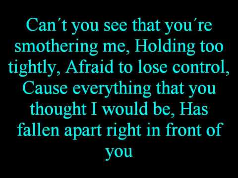 Linkin Park Numb Lyrics (on Screen)