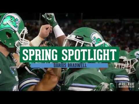 ed6b551fb Tulane Football  SpringSpotlight  Darius Bradwell - YouTube