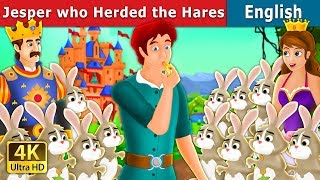 Jesper Who Herded The Hares | Bedtime Stories | English Fairy Tales