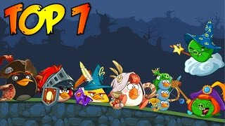 Top 7: Angry Birds Epic Characters in Bad Piggies