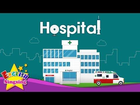 Từ vựng tiếng Anh về bệnh viện - Tiếng Anh trẻ em