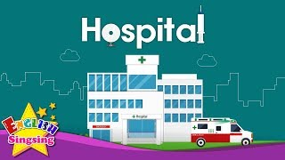 Kids vocabulary - Hospital - hospital vocab - Learn English for kids - English educational video