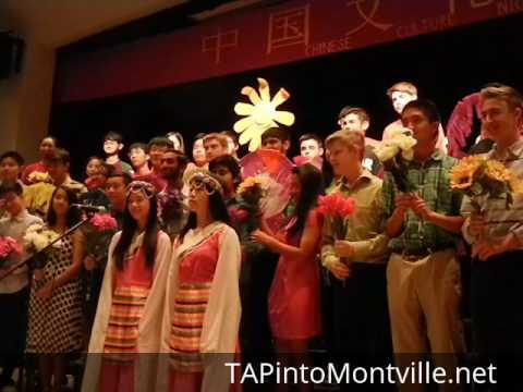 Chinese Culture Night Presentation at Montville Township High School May 20, 2016