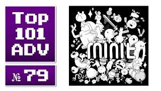 Top 101 Action-Adventures aller Zeiten #79 » Minit (2018)