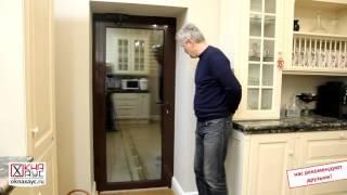 Входная дверь и автоматическая роллета из профиля Alutech(, 2016-02-07T22:15:21.000Z)