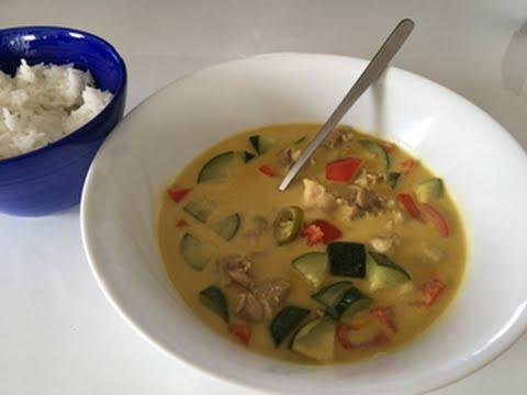 Kuchnia Tajska Pikantne Zielone Curry