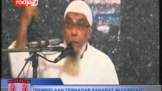 Ustadz Abdul Hakim bin Amir Abdat [22-10-2012] PEMBELAAN TERHADAP SAHABAT MU'AWIYAH - Rodja TV