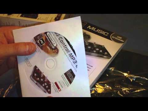 Hercules DJ Control MP3 e2 Unboxing