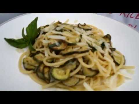 PASTA E ZUCCHINE: Spaghetti alla Nerano | Le ricette di Zia Franca