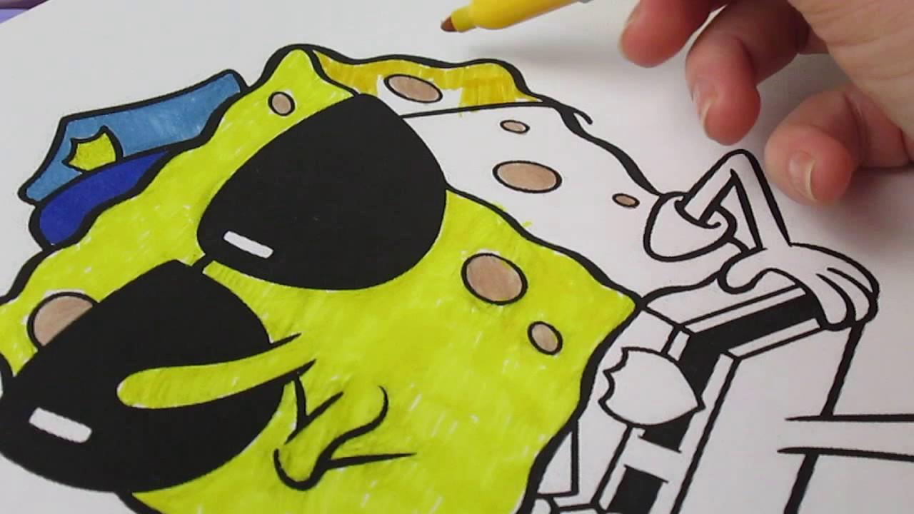 Spongebob Coloring Pages Coloring Book губка боб квадратные штаны раскраска для детей спанч боб