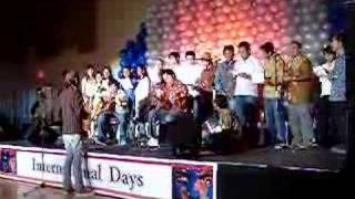 Lagu Rasa Sayange di TRU International Day