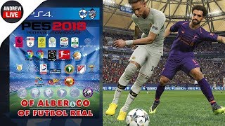 PES 2018 PS4 actualizado al 2019 | OPTION FILE ALBER & CO V.10