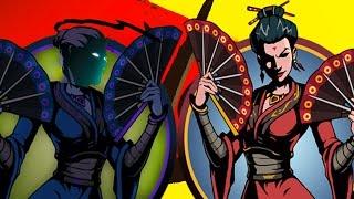 Битва Вдовы видео для детей #44 игровой мультик видео для детей бой с тенью 2 Shadow Fight 2 #KID