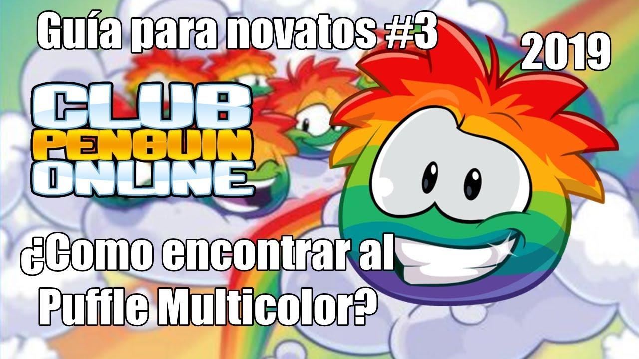 como conseguir el puffle multicolor en free penguin