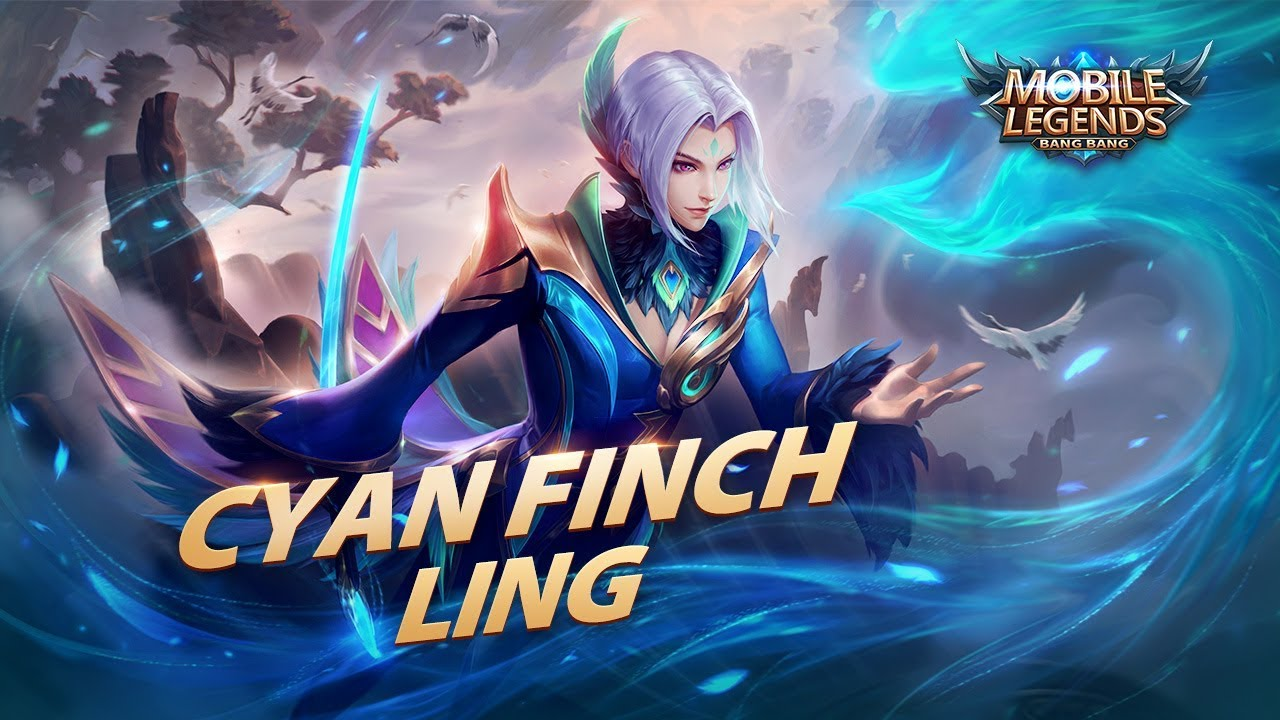 new hero | cyan finch | ling | mobile legends: bang bang!