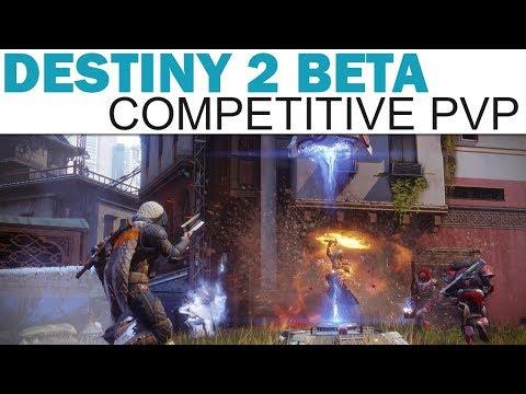 Destiny 2 (PC Open Beta) - Competitive PvP - Midtown