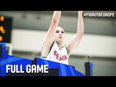 Bulgaria v Iceland - Full Game - FIBA U18 European Championship 2017 - DIV B