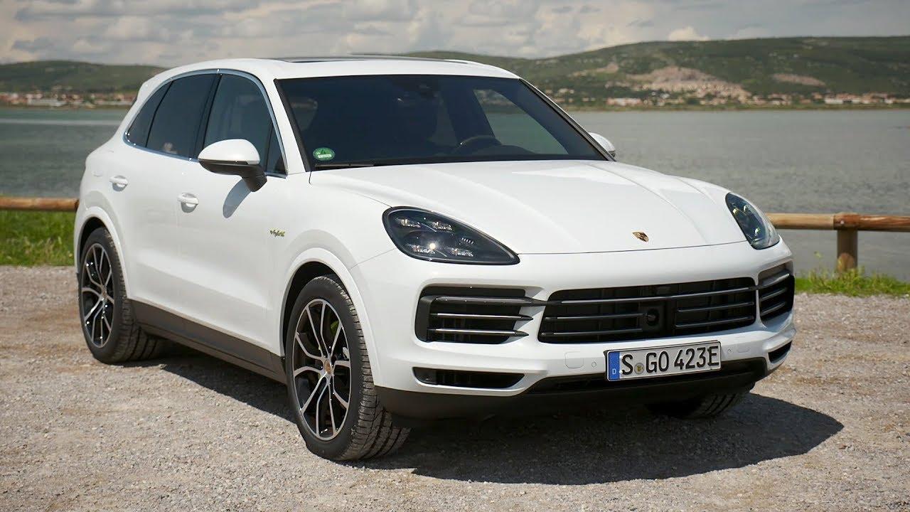 2019 Porsche Cayenne E Hybrid Exterior Interior Carrara White