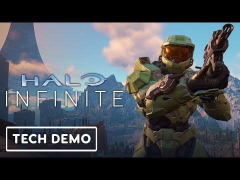 Много нового геймплея мультиплеера Halo Infinite