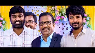 Sivakarthikeyan & Vijay Sethupathy attends Comedian Charlie Son Wedding | Marriage Video
