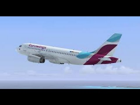 Eurowings Best Class - London Heathrow to Cologne-Bonn (4U 469) - Airbus 319-100