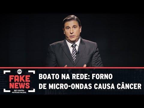 SBT Contra Notícias Falsas: Boato na rede: forno de micro-ondas causa câncer