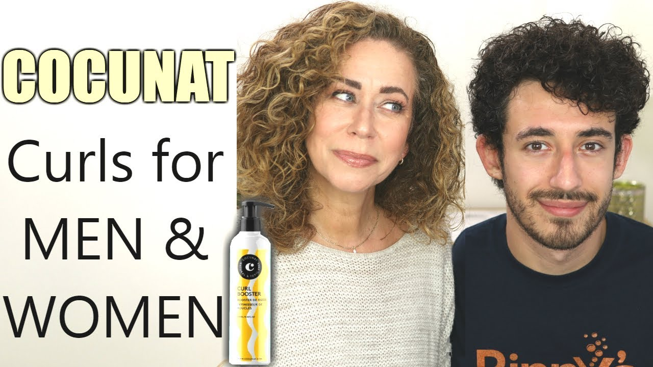 Cocunat Curl Booster Curly Hair Product Men Women Youtube