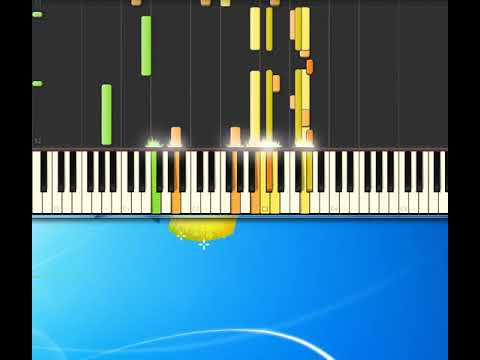 [Piano Tutorial Synthesia]Big spender - Bassey Shirley