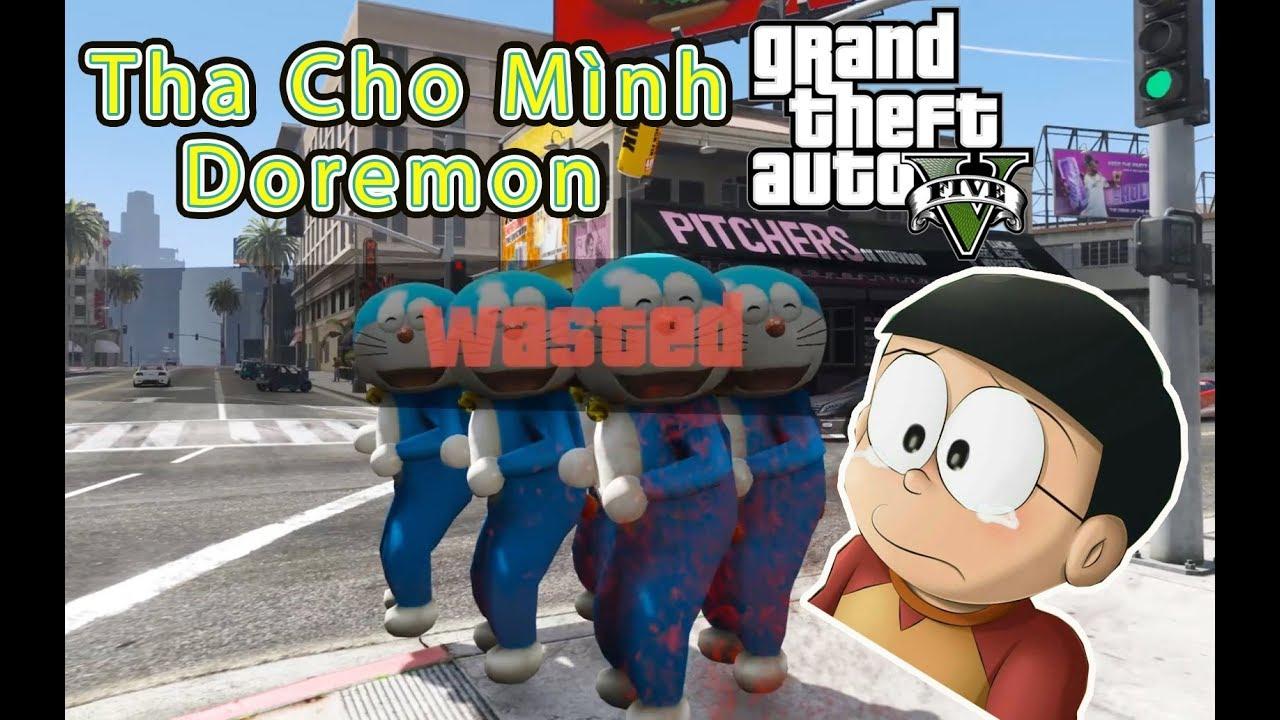 GTA 5 Mod – Nobita Bị Ám Ảnh Bởi Doremon Nhảy Khiên Quan Tài