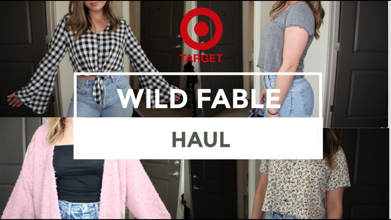 34afdc3c6 NEW TARGET BRAND | WILD FABLE HAUL & TRY-ON - YouTube