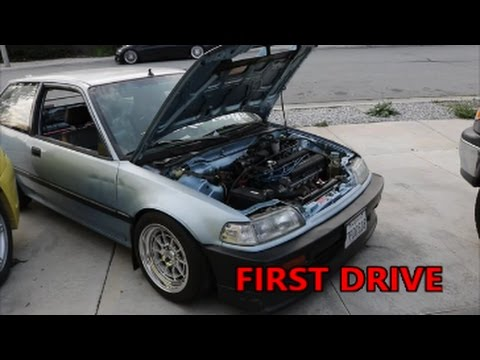 First Drive In The B20 Hatch!