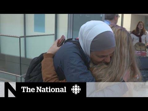 Syria's White Helmets arrive in Canada