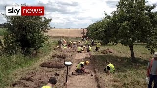Historians excavate Battle of Waterloo site in Belgium