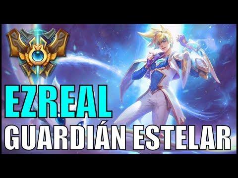 ► EZREAL GUARDIÁN ESTELAR (Guardián de las Estrellas) [GUIA S7 en ESPAÑOL] - League of Legends